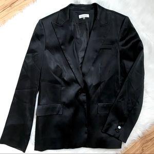 Calvin Klein Black Tuxedo Blazer Jacket